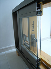 安心仕様5:サッシ & 複層ガラス