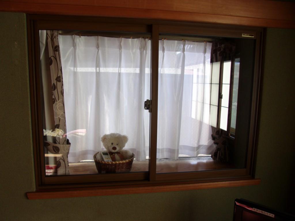 内窓の施工