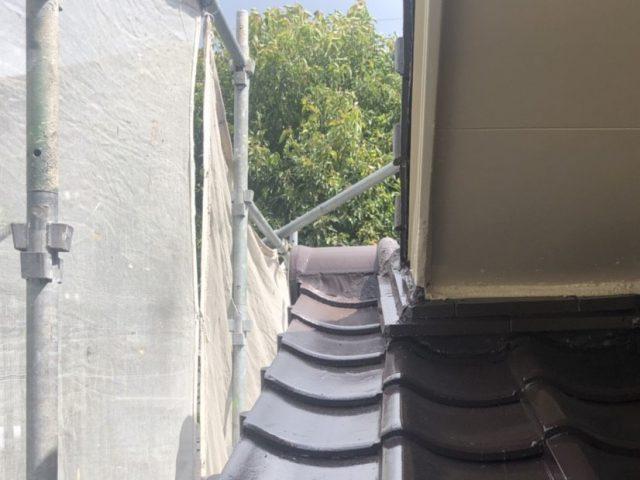 屋根 補修部分