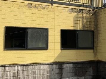 施工前 外壁腐食部分
