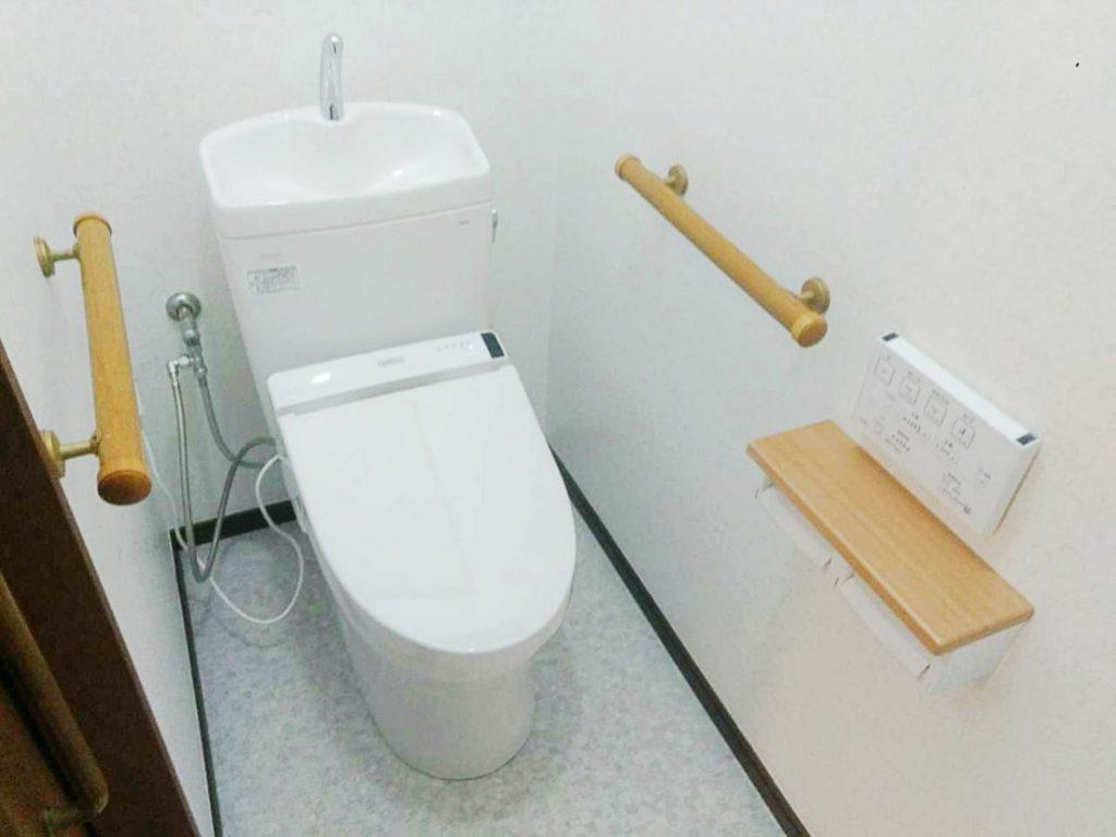 トイレ・施工後・全景_