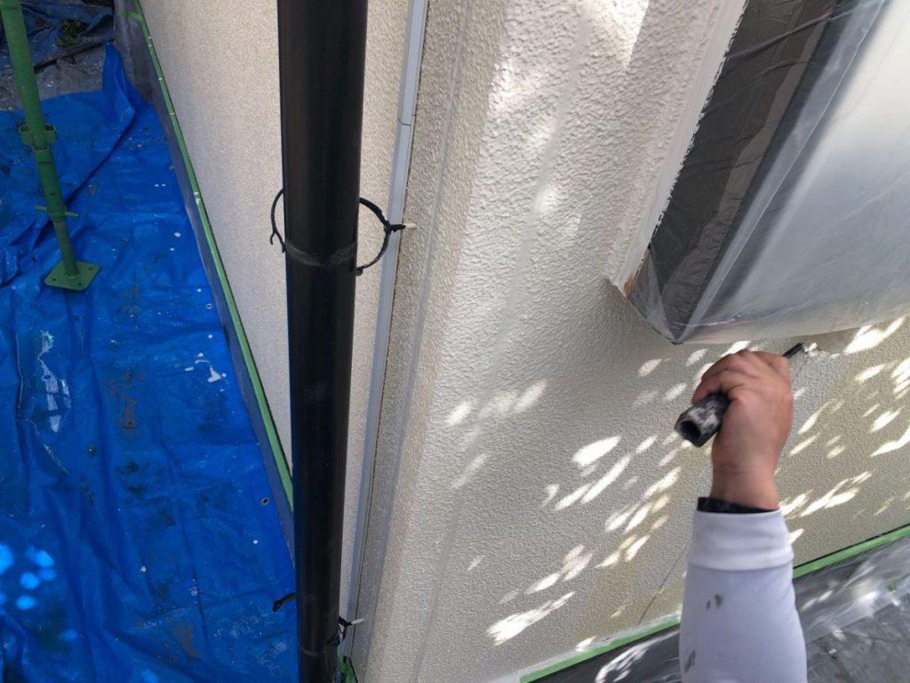 外壁中塗り塗装