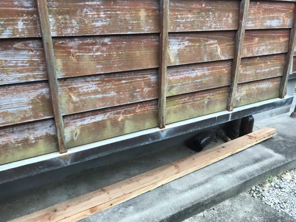 木壁 カビ状況