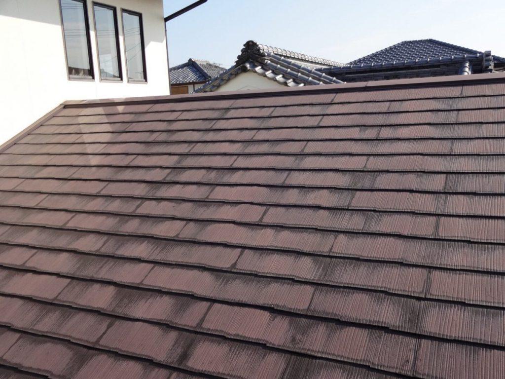 屋根塗装前 既存状況