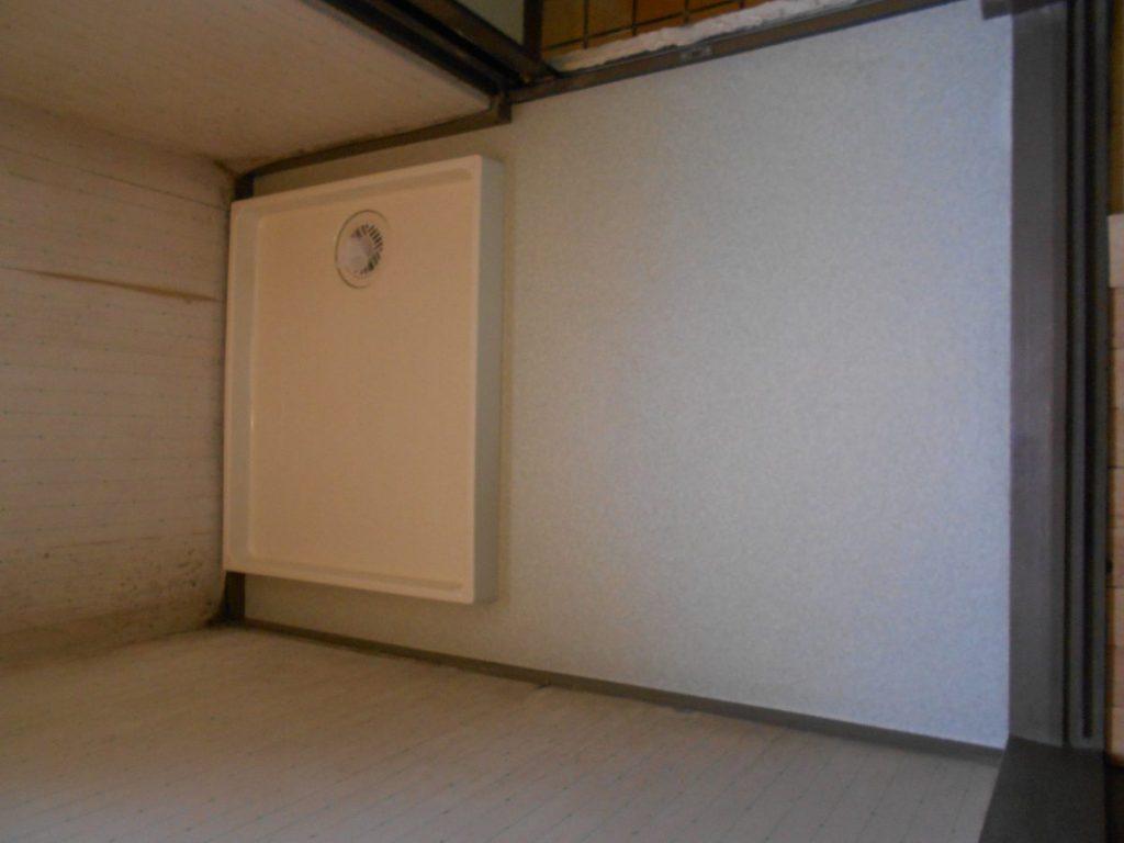 洗濯機置き場のリフォーム完成