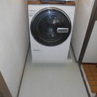 洗濯機置き場リフォーム完成