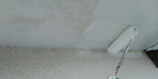 【鹿児島県曽於郡】大崎町にあるスレート屋根の住宅で足場設置・養生・高圧洗浄を行います軒天上塗り_1_確定