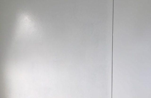 【宮崎県宮崎市】神宮にあるセメント瓦屋根の住宅で足場設置・養生・高圧洗浄を行います軒天上塗り_1_確定