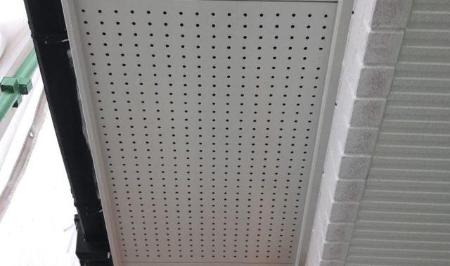 【宮崎県都城市】久保原町にある住宅で塗装前のシーリング補修を行います軒天上塗り_1_確定