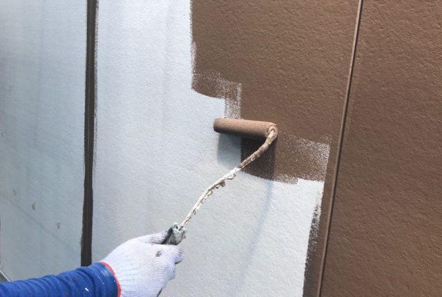 【鹿児島県霧島市】霧島田口にある住宅で高圧洗浄とシーリング工事を行います外壁中塗り_1_確定