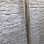 【宮崎県宮崎市】大坪東にあるセメント瓦屋根とFRP防水ベランダの住宅で仮設足場・高圧洗浄・シーリング工事を行います外壁中塗り_1_確定