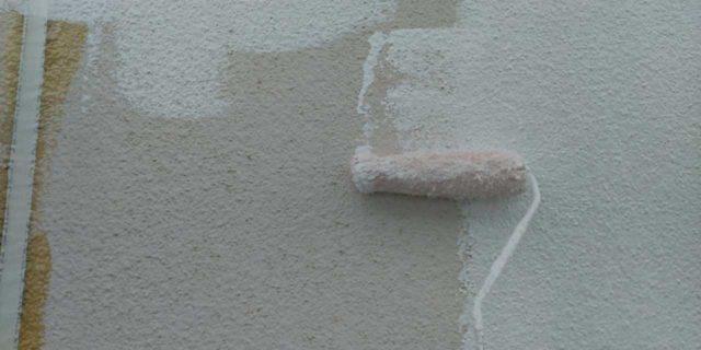 【鹿児島県曽於郡】大崎町にあるスレート屋根の住宅で足場設置・養生・高圧洗浄を行います外壁下塗り_1_確定