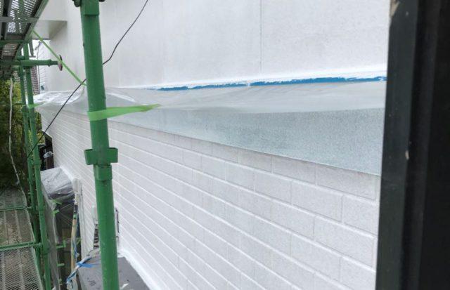 【宮崎県都城市】久保原町にある住宅で塗装前のシーリング補修を行います外壁下塗り_1_確定