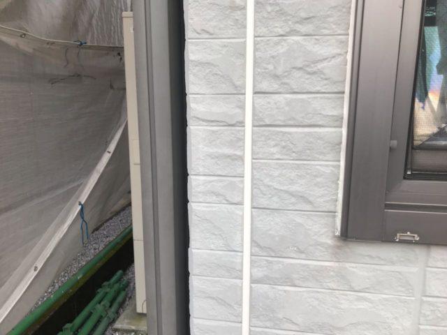 【宮崎県宮崎市】大坪東にあるセメント瓦屋根とFRP防水ベランダの住宅で仮設足場・高圧洗浄・シーリング工事を行いますシーリング完了_1_確定