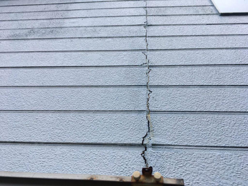 補修が必要な外壁の傷み