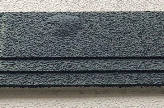 外壁の材料び起因する膨れ