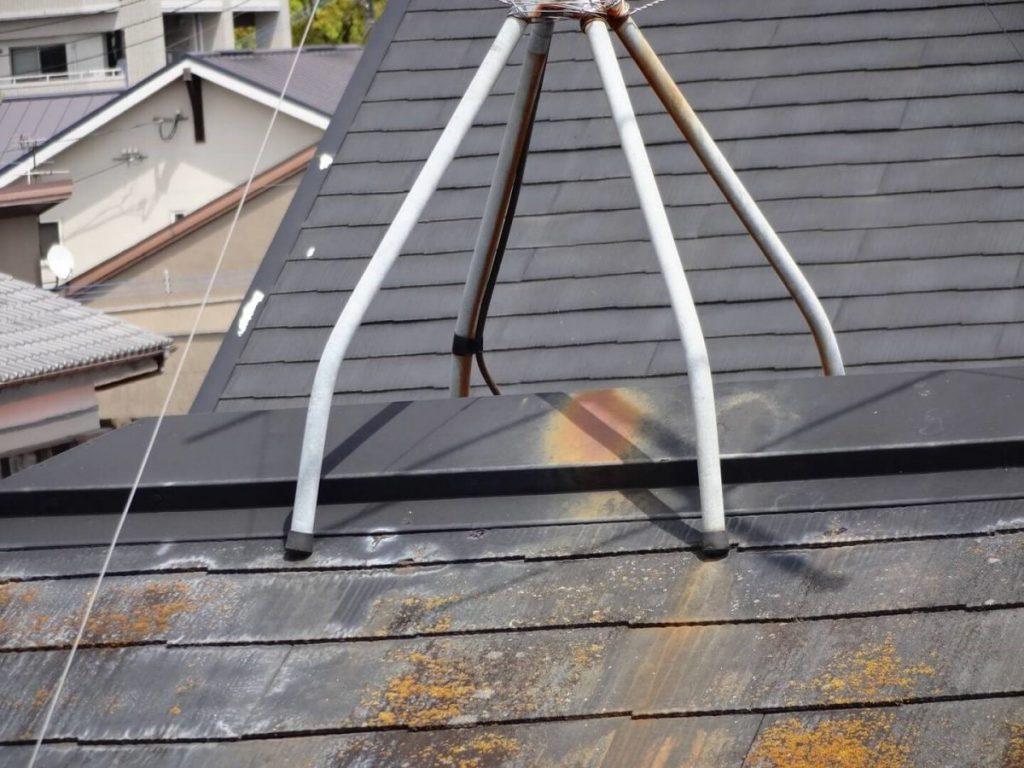屋根 アンテナ