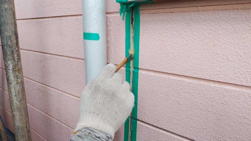 鹿児島市塗装工事 コーキング補修プライマー