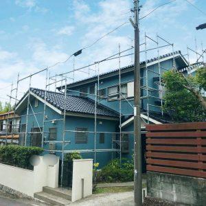 鹿児島市 外壁塗装工事完成