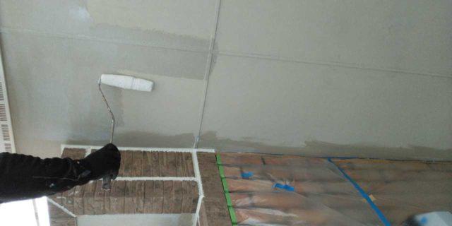 【宮崎県宮崎市】島之内にある万代ホームの築16年の住宅で外壁・防水塗装をした工事軒天