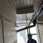 【宮崎県宮崎市】月見ヶ丘にある20坪の住宅で57平方メートルの外壁と92平方メートルの屋根を塗装した工事屋根軒天上塗り