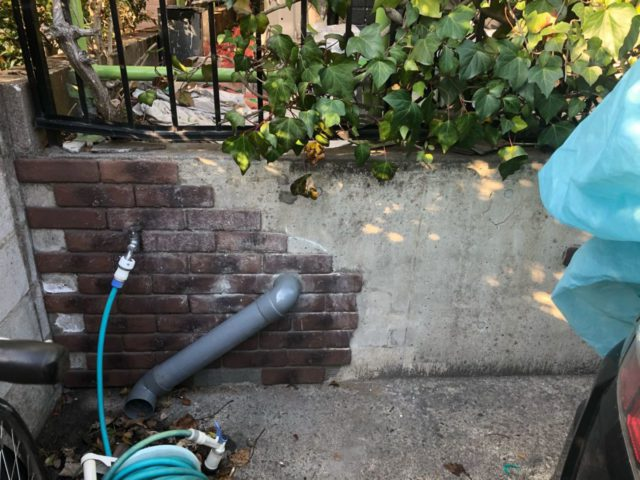 【宮崎・鹿児島地域】外壁や軒天、雨樋、玄関庇排水板金、雨水浸透ますなどを修繕・塗装した工事雨水浸透ます