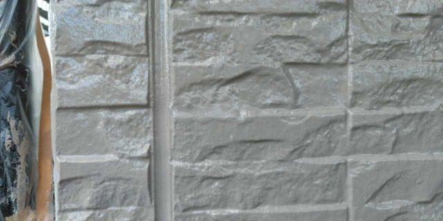 【宮崎県宮崎市】宮脇町にある大和ハウスの建築住宅で128平方メートルの外壁と、屋根を塗装した工事壁中