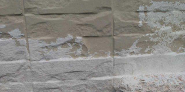 【宮崎県宮崎市】宮脇町にある大和ハウスの建築住宅で128平方メートルの外壁と、屋根を塗装した工事壁下