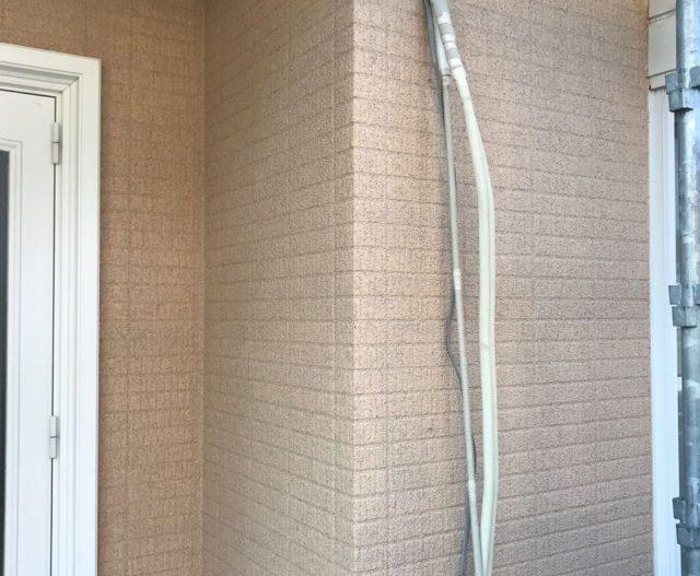 【宮崎県宮崎市】生目台にある45坪の住宅でサンドフレッシュSiで屋根塗装をした工事壁上サンドフレッシュ