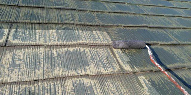 【宮崎県宮崎市】宮脇町にある大和ハウスの建築住宅で128平方メートルの外壁と、屋根を塗装した工事屋根下