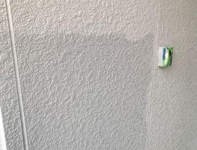 【宮崎県宮崎市】清武町にある住宅で瓦屋根とサイディング外壁を塗装した工事外上