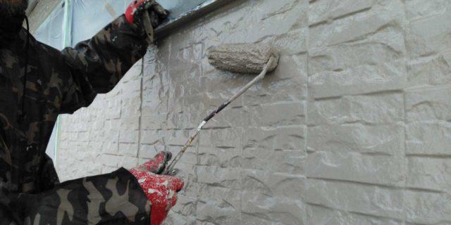 【宮崎県宮崎市】宮脇町にある大和ハウスの建築住宅で128平方メートルの外壁と、屋根を塗装した工事壁上