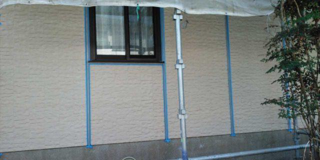 【宮崎県宮崎市】宮脇町にある大和ハウスの建築住宅で128平方メートルの外壁と、屋根を塗装した工事プライマー