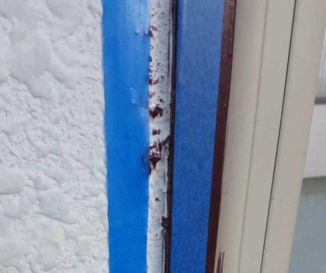【宮崎県宮崎市】月見ヶ丘にある20坪の住宅で57平方メートルの外壁と92平方メートルの屋根を塗装した工事シーリングプライマー