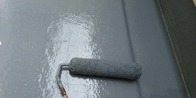 【宮崎県宮崎市】島之内にある万代ホームの築16年の住宅で外壁・防水塗装をした工事防水