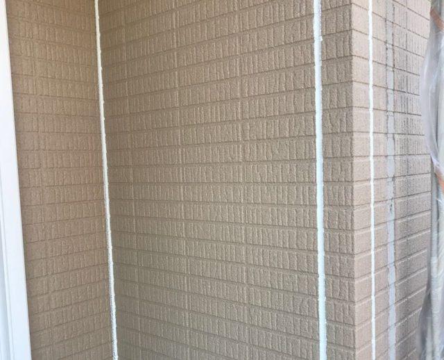 【宮崎県宮崎市】生目台にある45坪の住宅でサンドフレッシュSiで屋根塗装をした工事シーリング