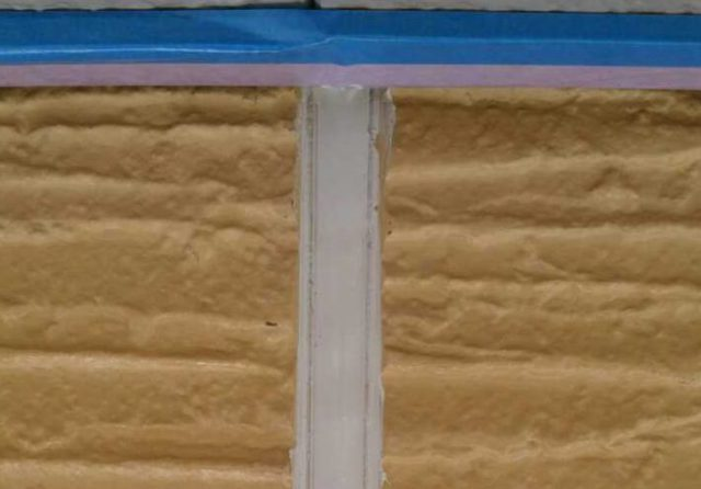 【宮崎県宮崎市】本郷にある60坪のアパートで屋根と外壁の塗装をした工事シーリング