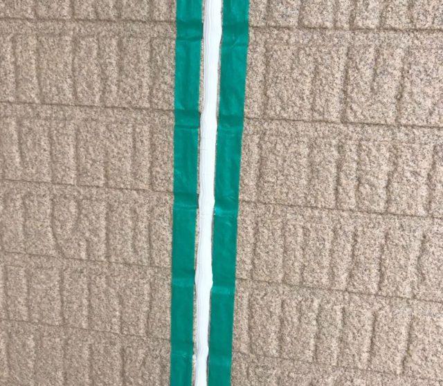 【宮崎県宮崎市】生目台にある45坪の住宅でサンドフレッシュSiで屋根塗装をした工事シーリング充填
