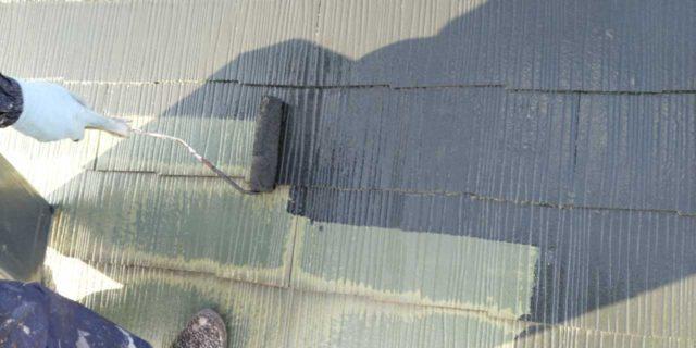【宮崎県宮崎市】宮脇町にある大和ハウスの建築住宅で128平方メートルの外壁と、屋根を塗装した工事屋根中