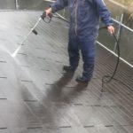 【宮崎県宮崎市】本郷にある60坪のアパートで屋根と外壁の塗装をした工事洗浄