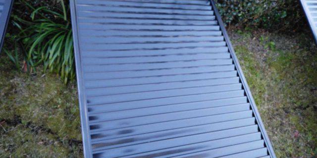 【宮崎県宮崎市】宮脇町にある大和ハウスの建築住宅で128平方メートルの外壁と、屋根を塗装した工事雨戸