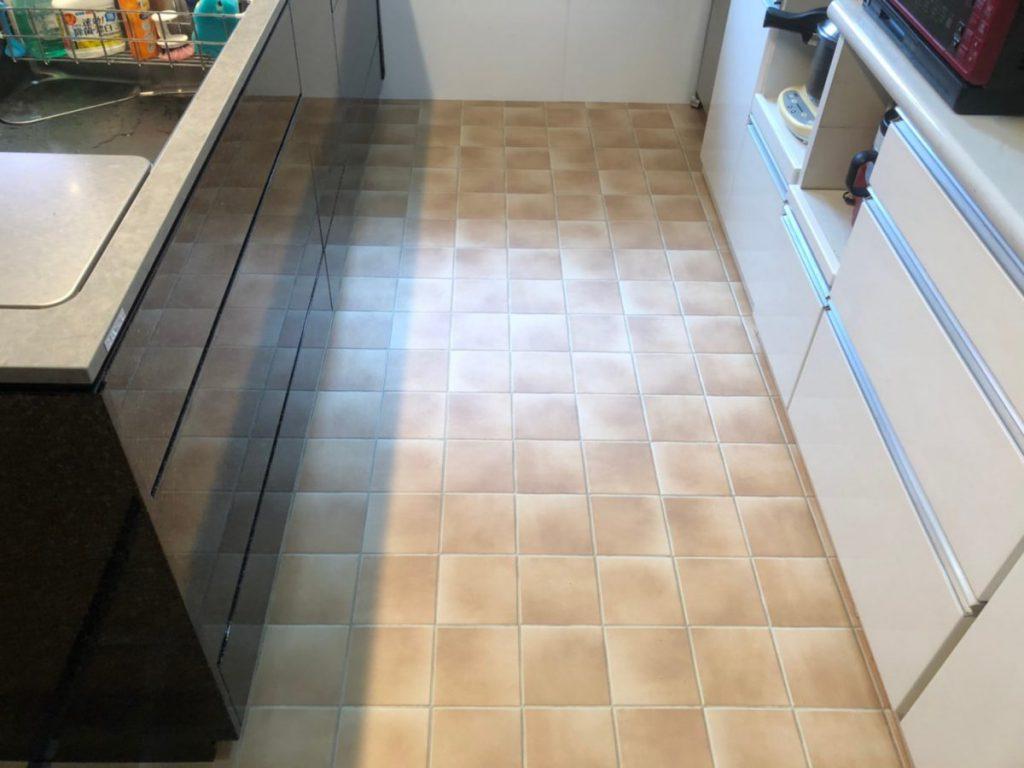 キッチンリフォーム 床