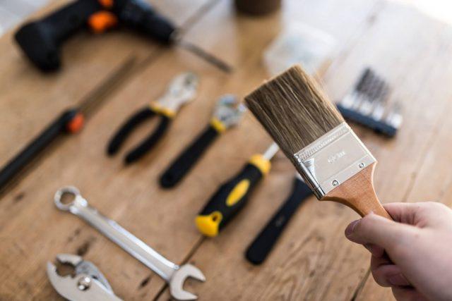 塗料道具刷毛