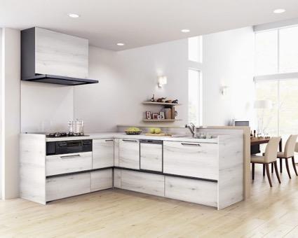 白いキッチン2