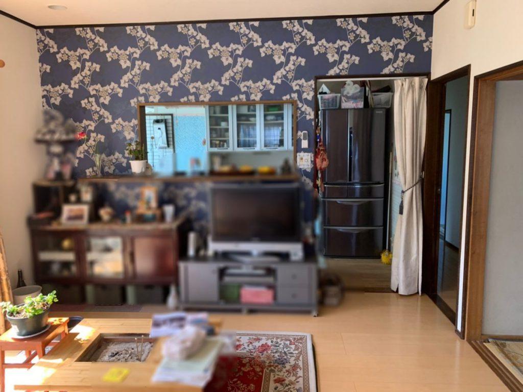 鹿児島市花野光ケ丘でのキッチンリフォーム工事