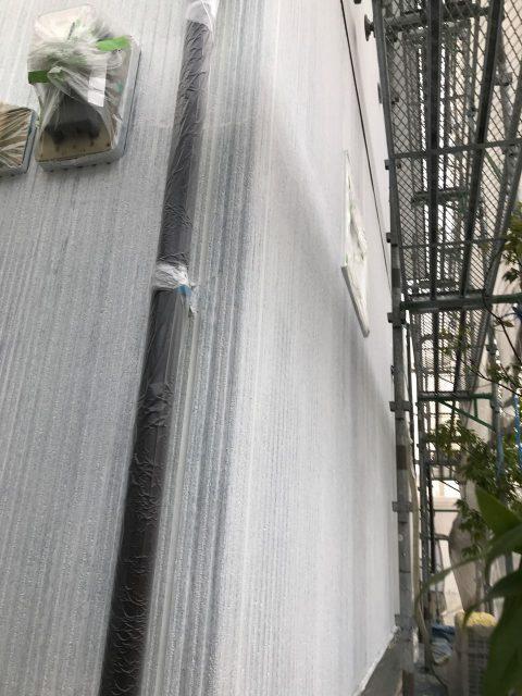 宮崎市塗装中の様子