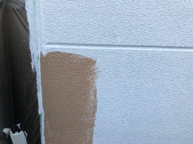 宮崎市 外壁塗装工事の様子
