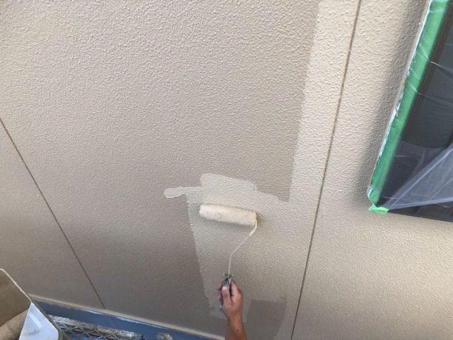 霧島市国分での外壁塗装工事