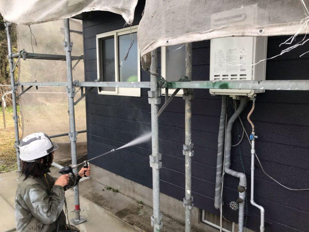 薩摩川内市外壁塗装工事