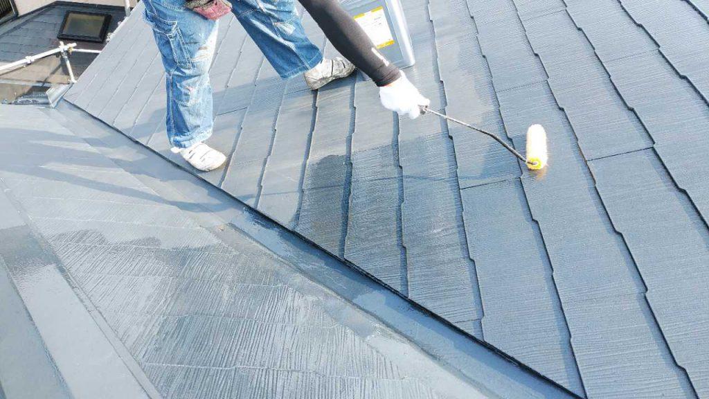 鹿児島市 屋根の宇下塗り塗装
